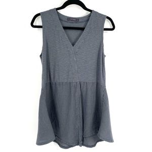 Cut Loose grey lagenlook tank top S